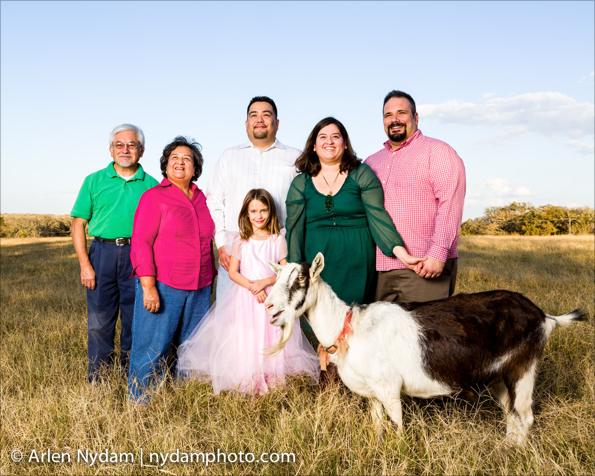 family-with-goat