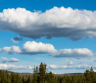 Clouds in Yellowstone